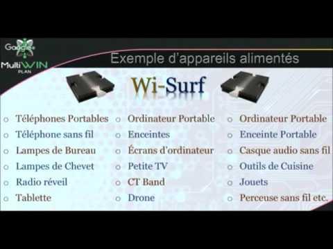 Wi-Surf MultiWin Plan recevez des royalties chaque mois de 500 € ou 2500 € et bien plus...