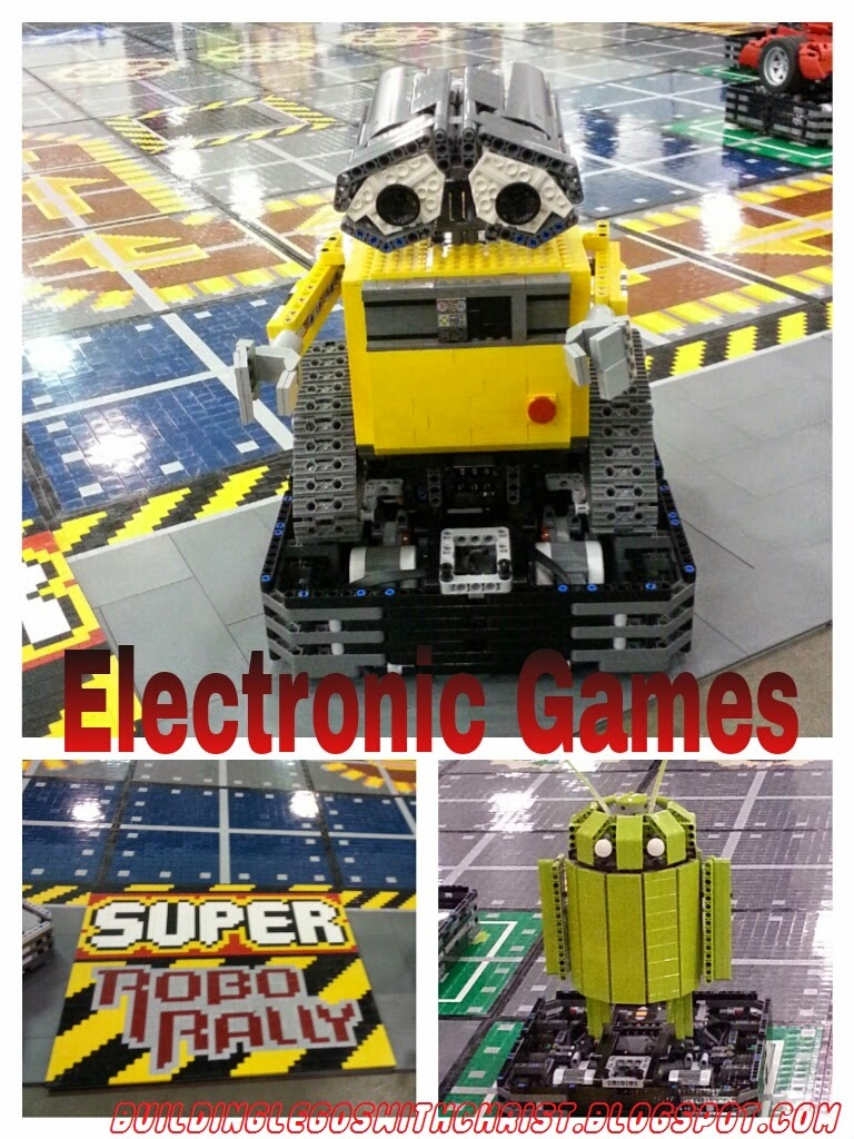 Brickworld LEGO Electronic Wall-E and Android Robot