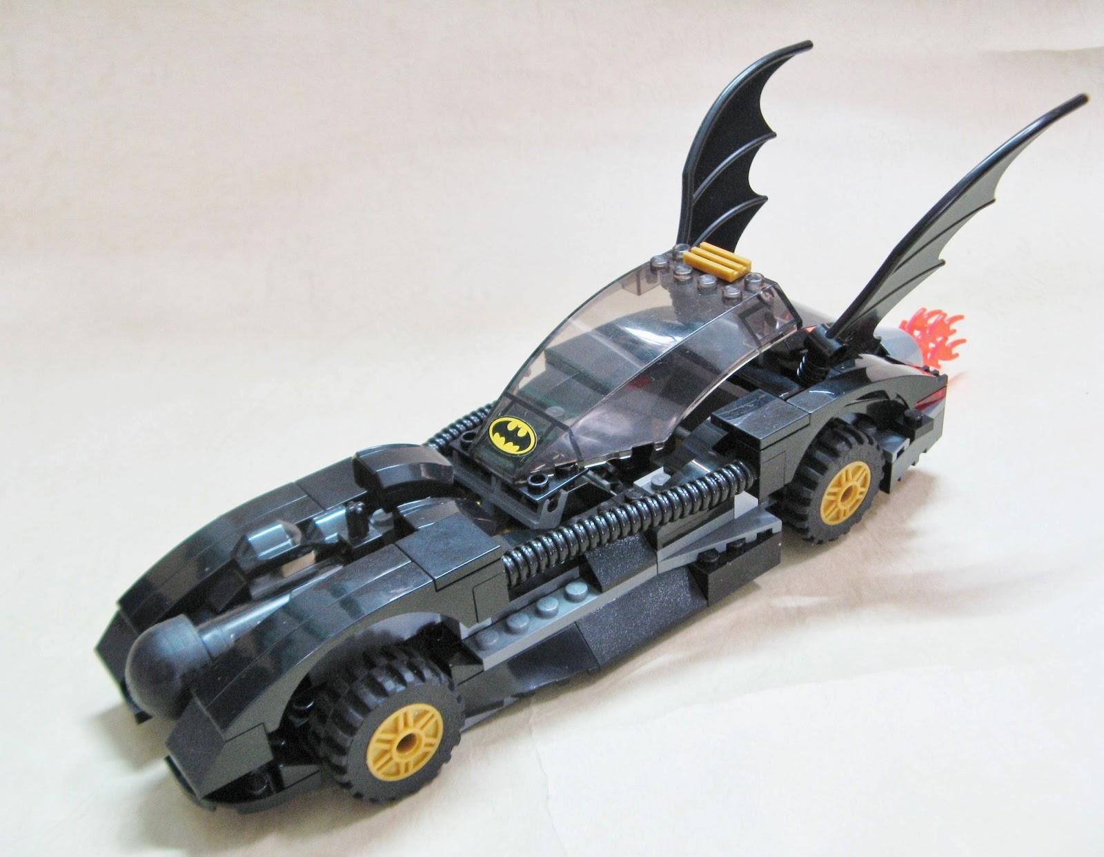 lego car show by bloks 7781 batman batmobile batman. Black Bedroom Furniture Sets. Home Design Ideas