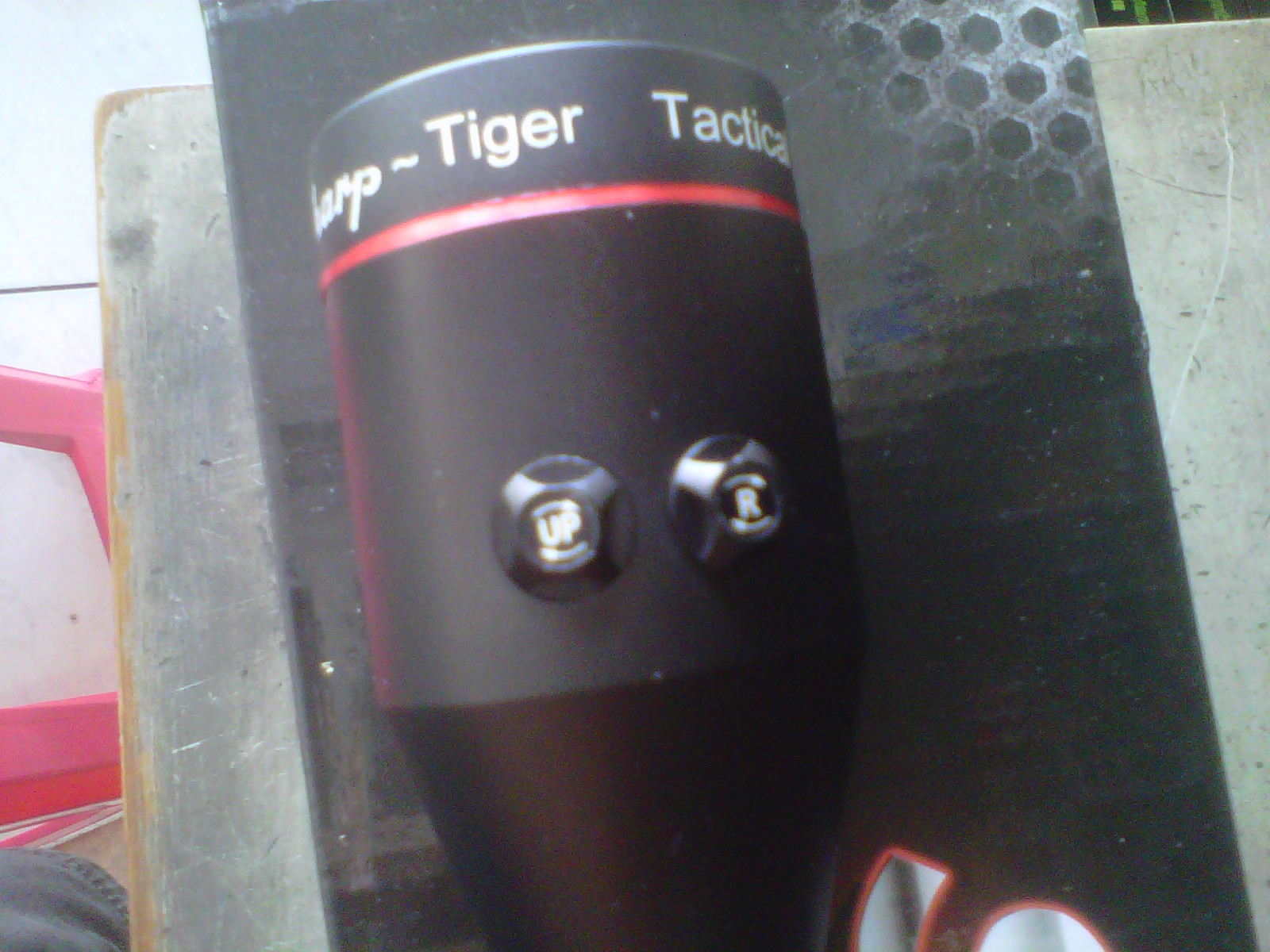 Guns and hobbies telescope sharp tiger e with laser pointer