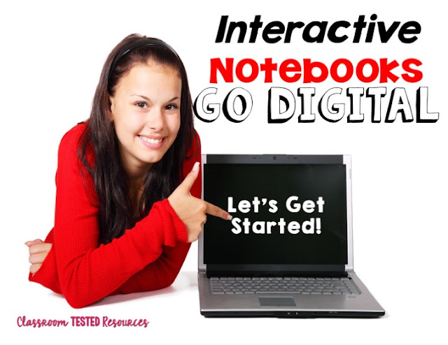 Interactive Notebooks Going Digital