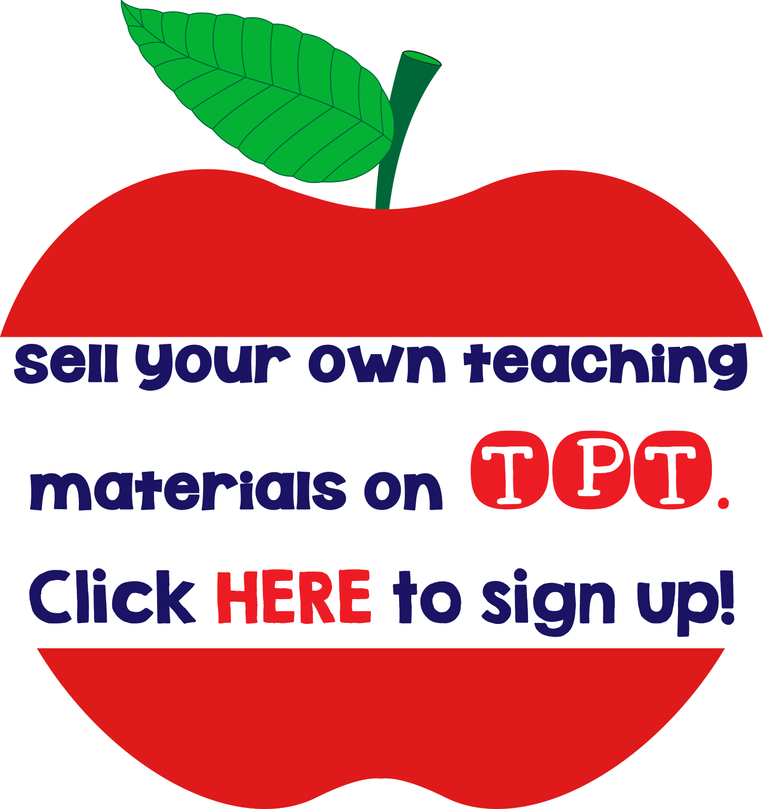 Sign up to be a TPT Seller!