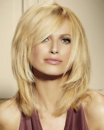 as es hay mujeres que no les gusta llevar el pelo ni tan corto ni muy largo y para ellas esta la opcin del corte de melena media