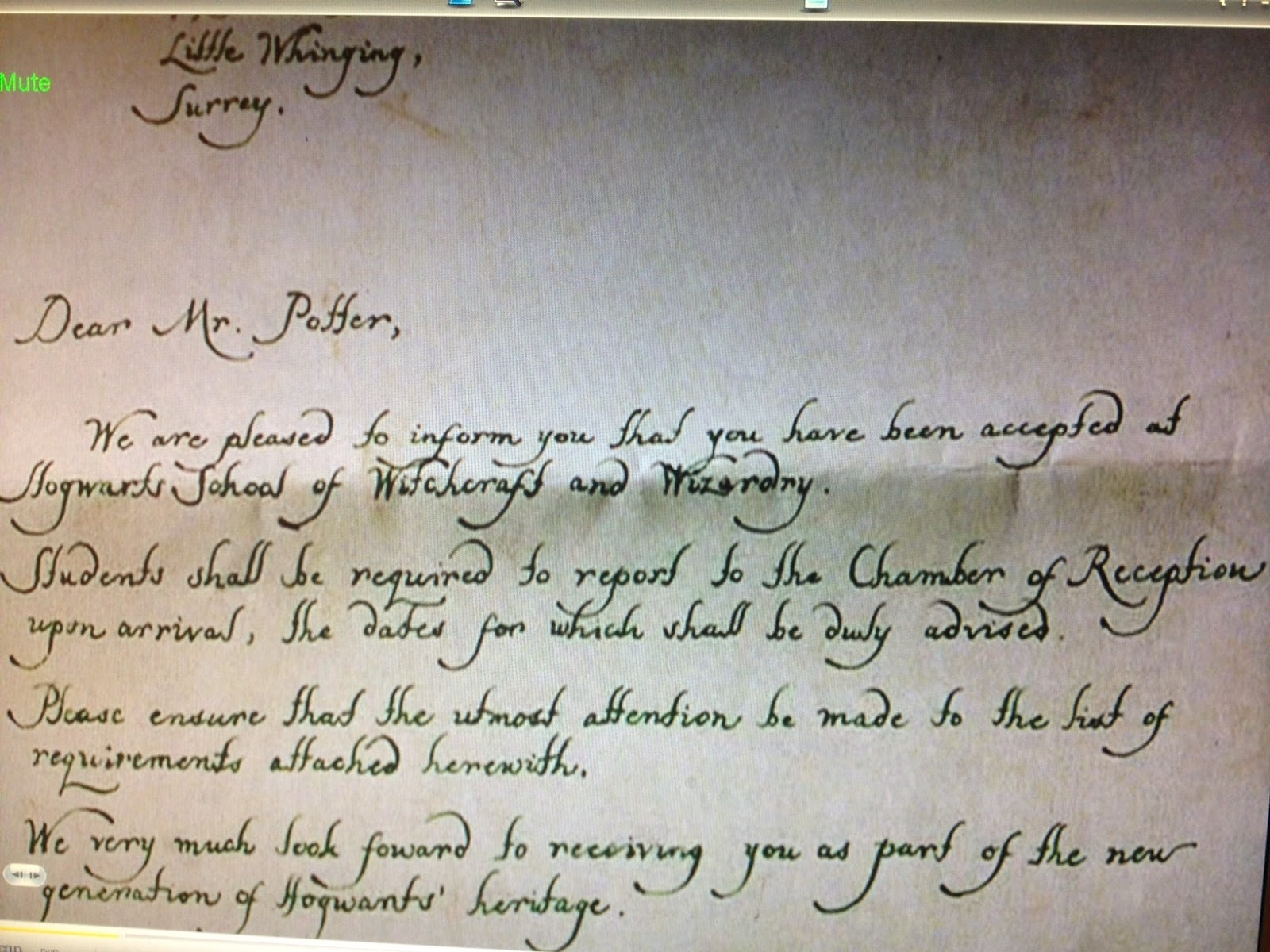 its not like its rocket surgery Hogwarts Acceptance Letter – Hogwarts Acceptance Letter