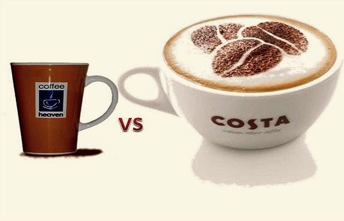 Obraz: Małe Coffeeheaven kontra duża COSTA