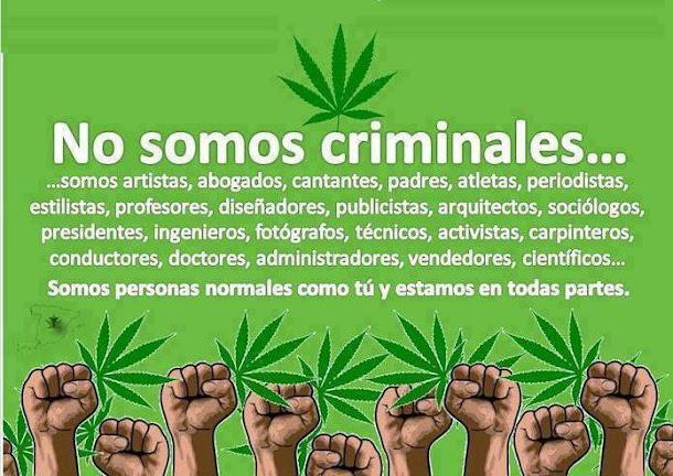 No somos criminales!