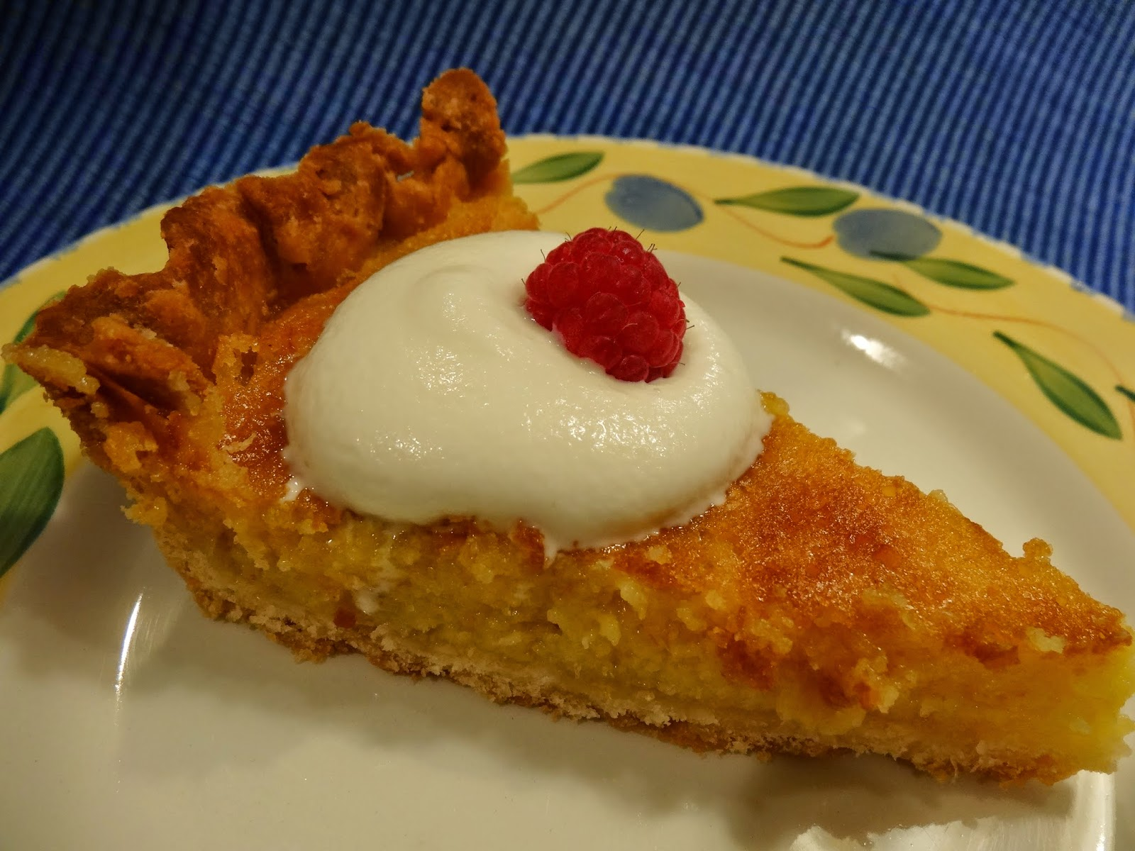 The Fanciful Fig: Lazy Mary's Lemon Tart