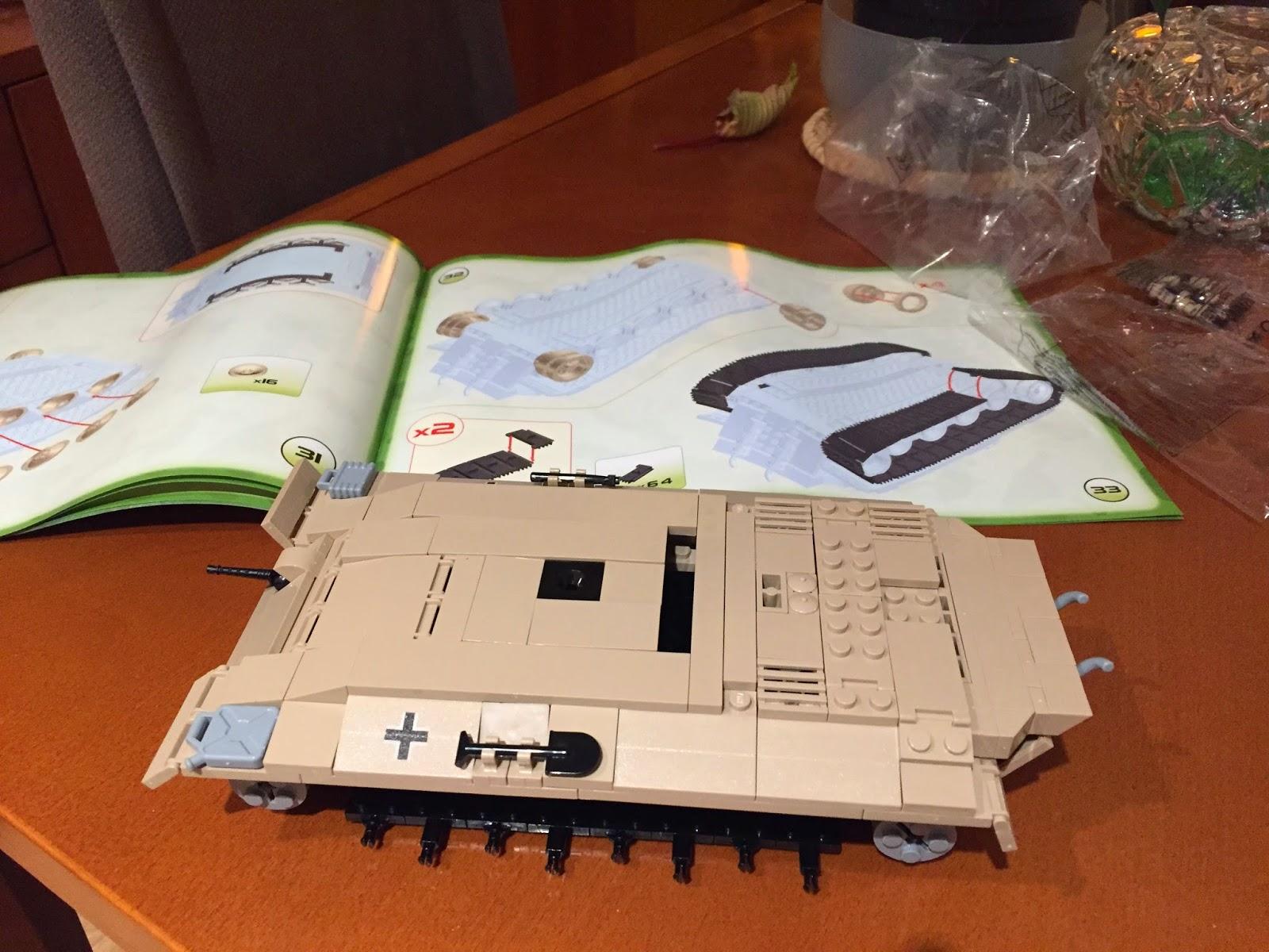 Cobi tanque Panther montaje