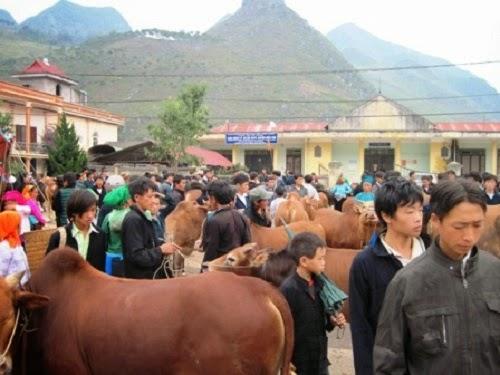 Meo Vac Market in Ha Giang1