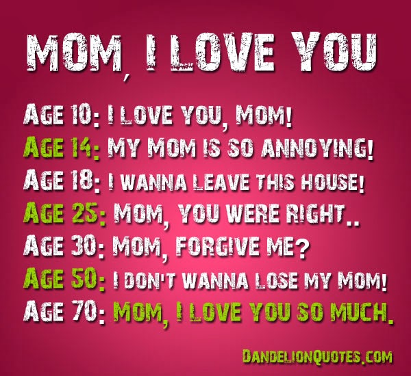 I Love You Mom Quotes From Daughter Tumblr : Mothers Day Poems 2014 ,Short Poems for Mom 2014