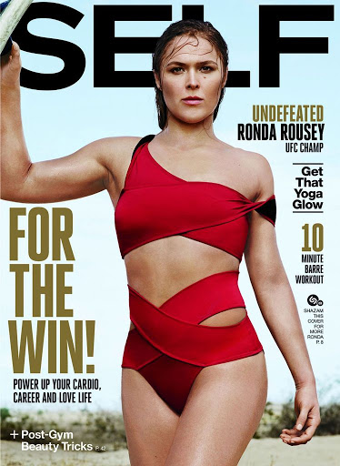 Ronda Rousey hot photo shoot for Self Magazine November 2015