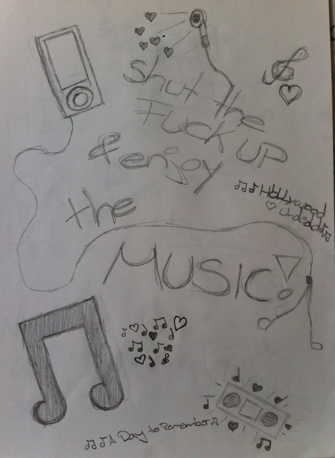 Welcome in a part of my life: I love it to draw