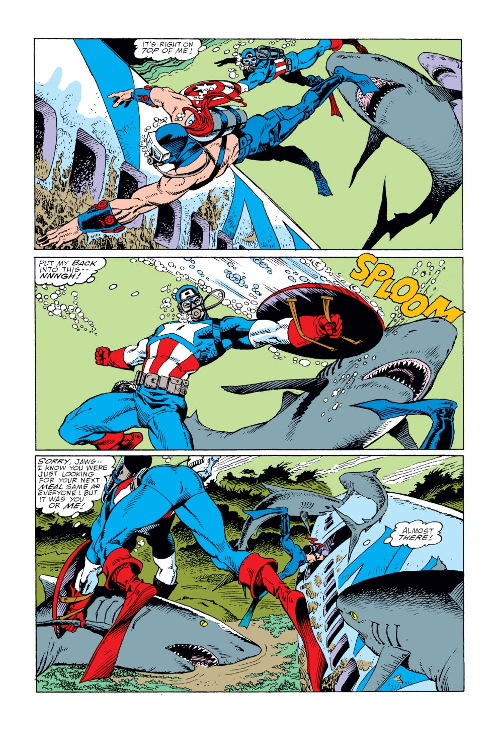 Captain America (1968) Issue #360 #293 - English 4