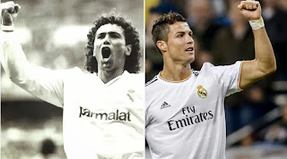 News now Real madrid - Cristiano Ronaldo equivalent number Hugo Sanchez scorer in Real Madrid history.