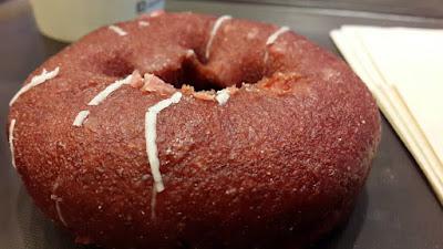 Red velvet donut in Seoul