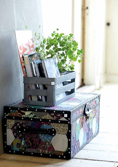 5 ideas decorativas con decoupage 4brujillasymedia - Baul decoracion ...
