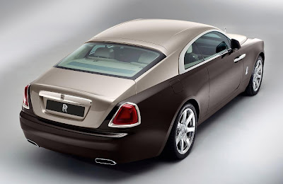 Rolls-Royce Wraith (2014) Rear Side