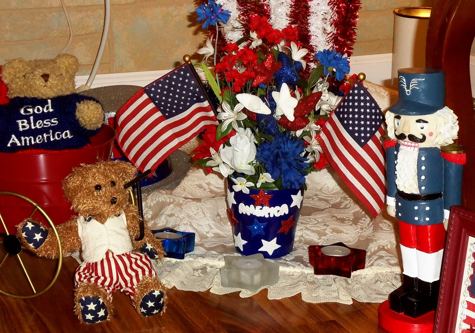 Summer Patriotic Decor 2015, Part 3