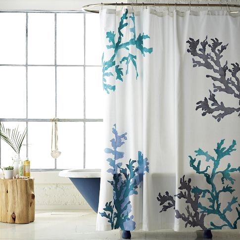 beach bathroom shower curtains easy decor idea shower curtain