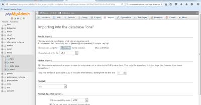 Cara Export dan Import Database MySQL