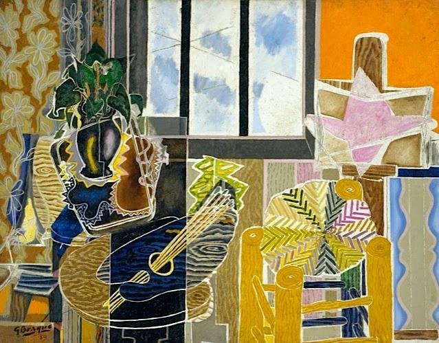 Georges braque 1882 1963 peintre majeur du 20e si cle for Braque peintre