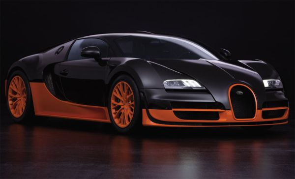 Bugatti Veyron Super Sport luxury sports car