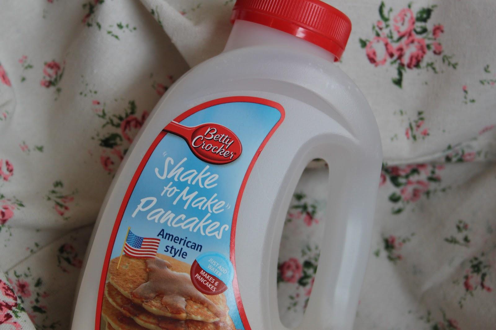 lazy american pancakes