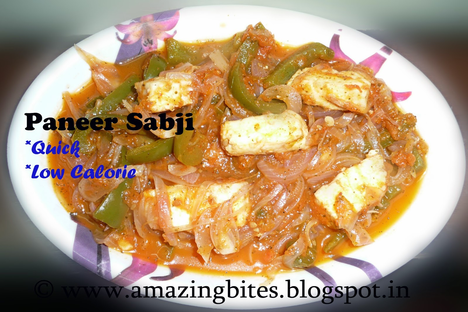 paneer sabji