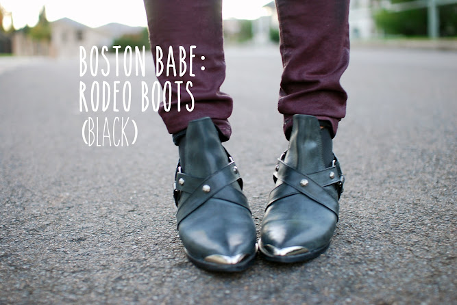 Boston Babe Rodeo Boots Footwear Blog