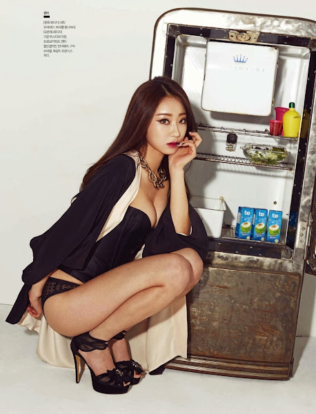 nine muses kyungri esquire korea 2014