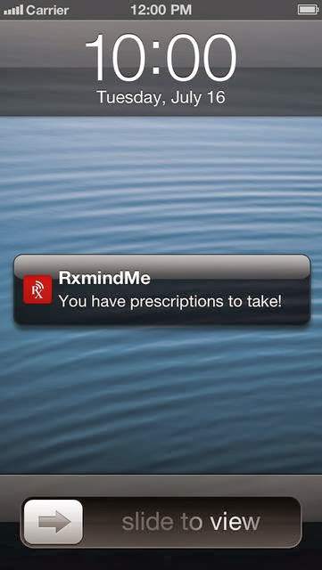 RxmindMe Prescription app