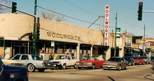 Eddie S Rail Fan Page The Old Woolworth S Department