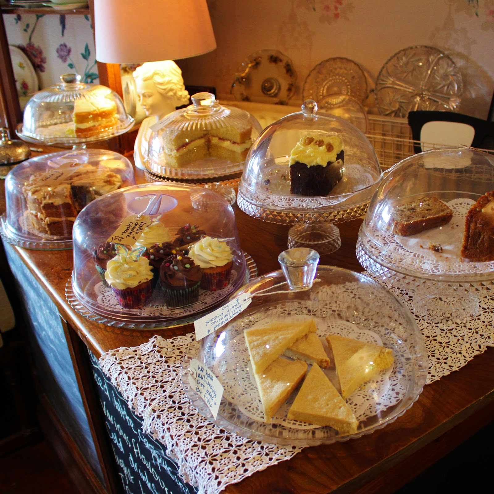 Curious Tea Room Oswestry Cakes