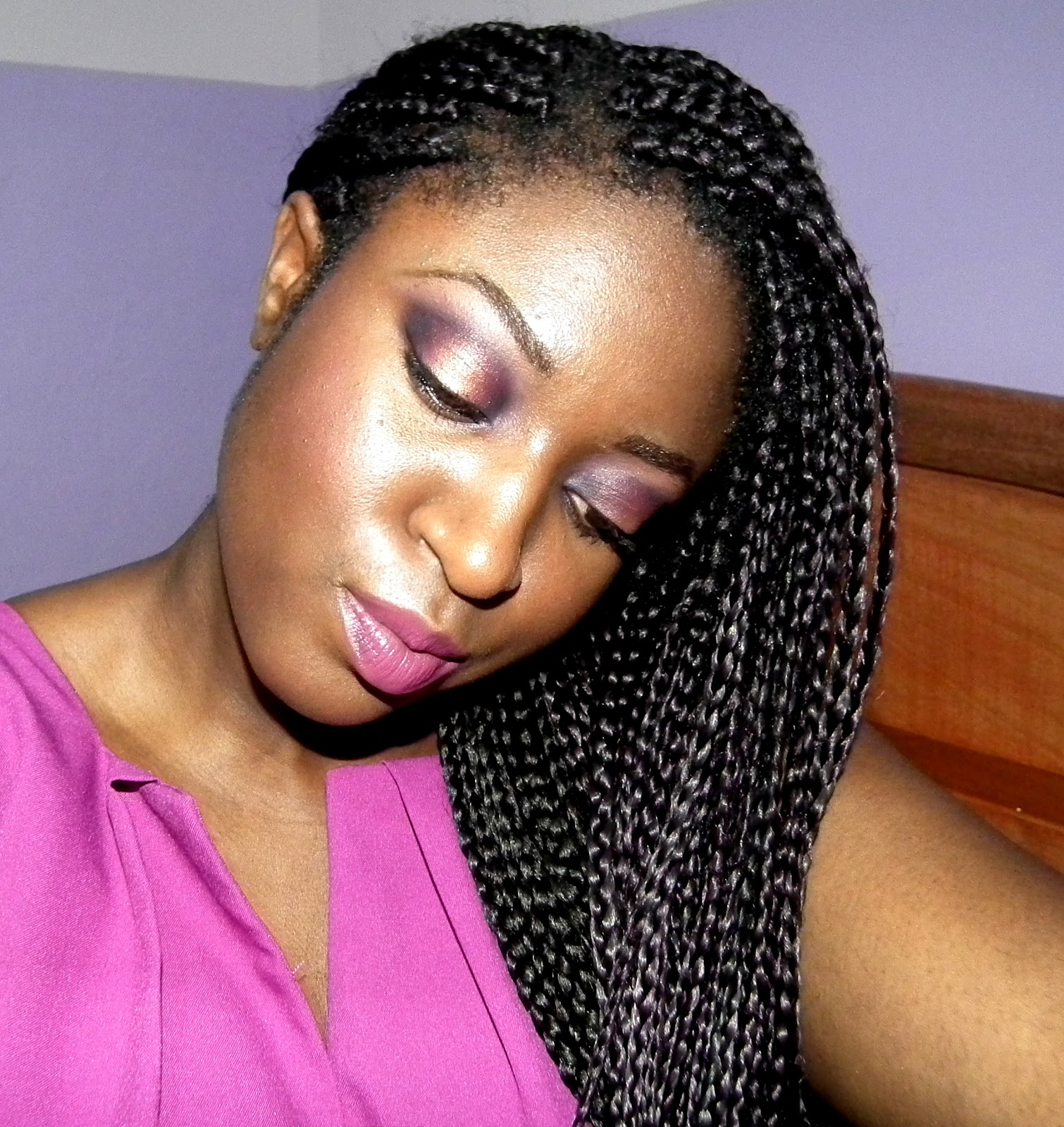 Hair of the Day : Loose Braids - Annette Akye