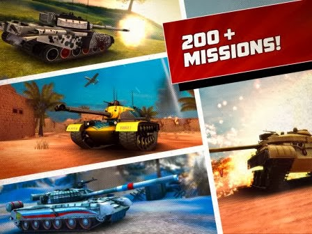 Download Boom! Tanks MOD APK+DATA (Unlimited Money)