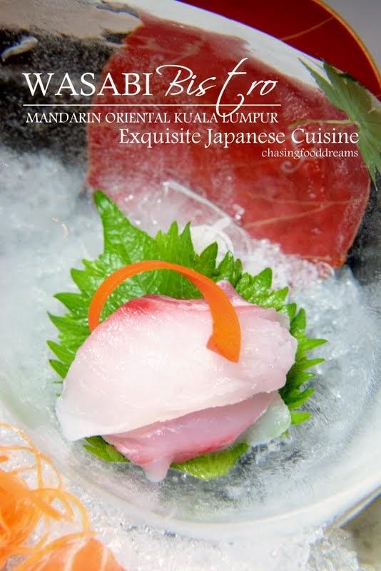 Chasing Food Dreams Wasabi Bistro Mandarin Oriental