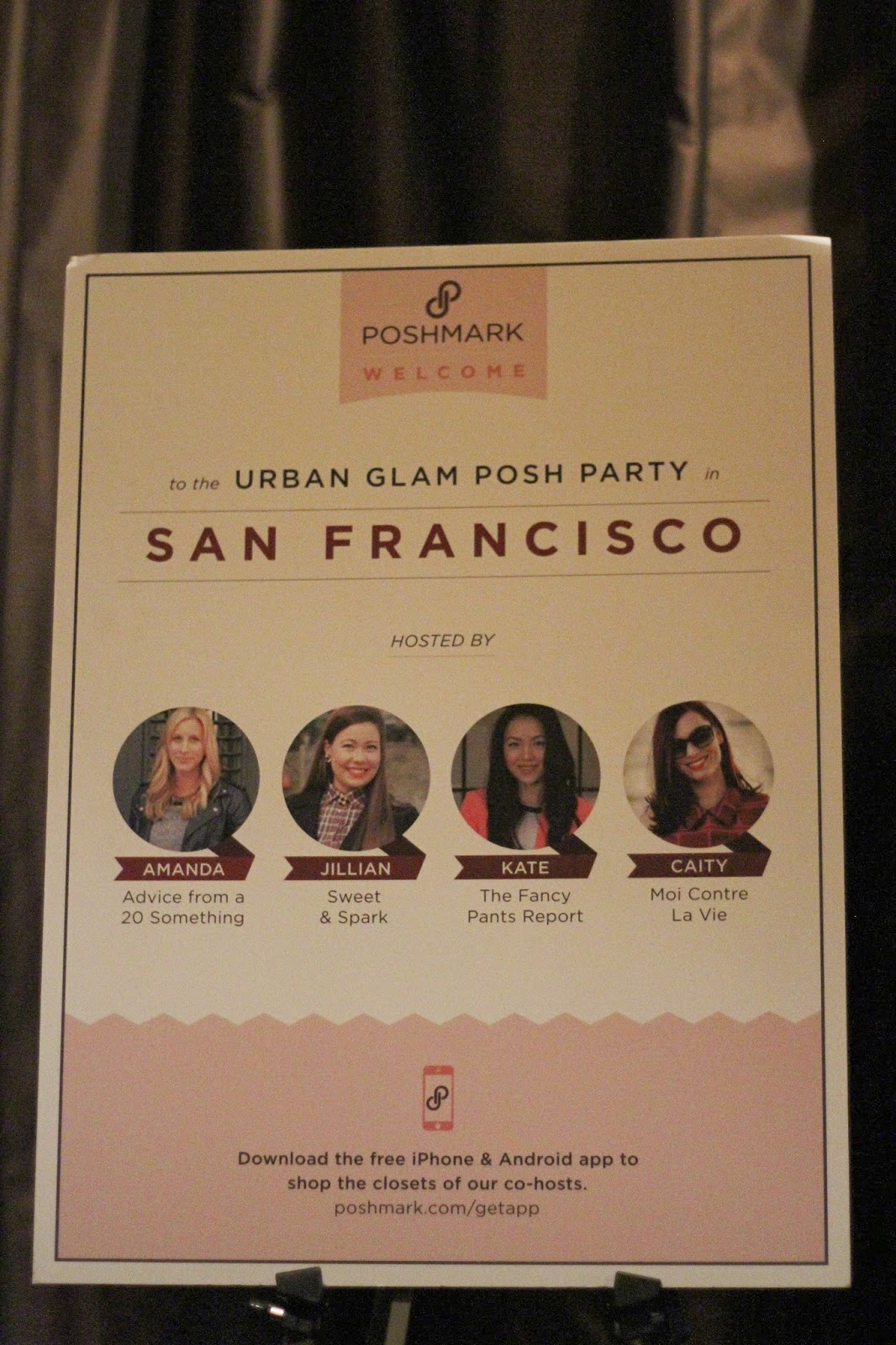 Urban Glam Party Hosts