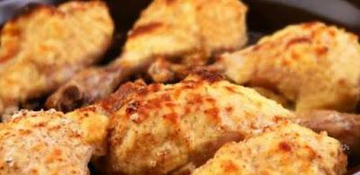 Receita de coxinha de frango assada com maionese