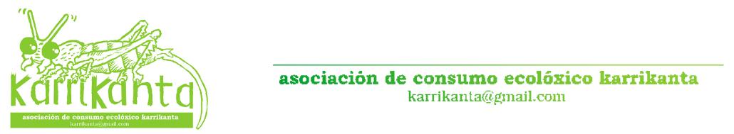 asociación de consumo ecolóxico karrikanta