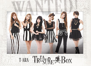 T-ara Japanese Single Treasure Box