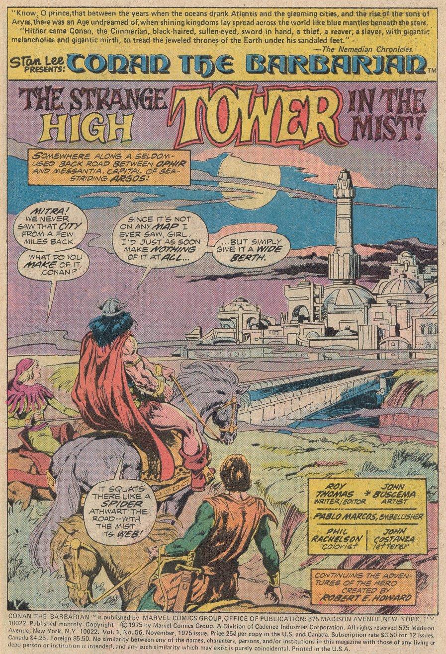 Conan the Barbarian (1970) Issue #56 #68 - English 2