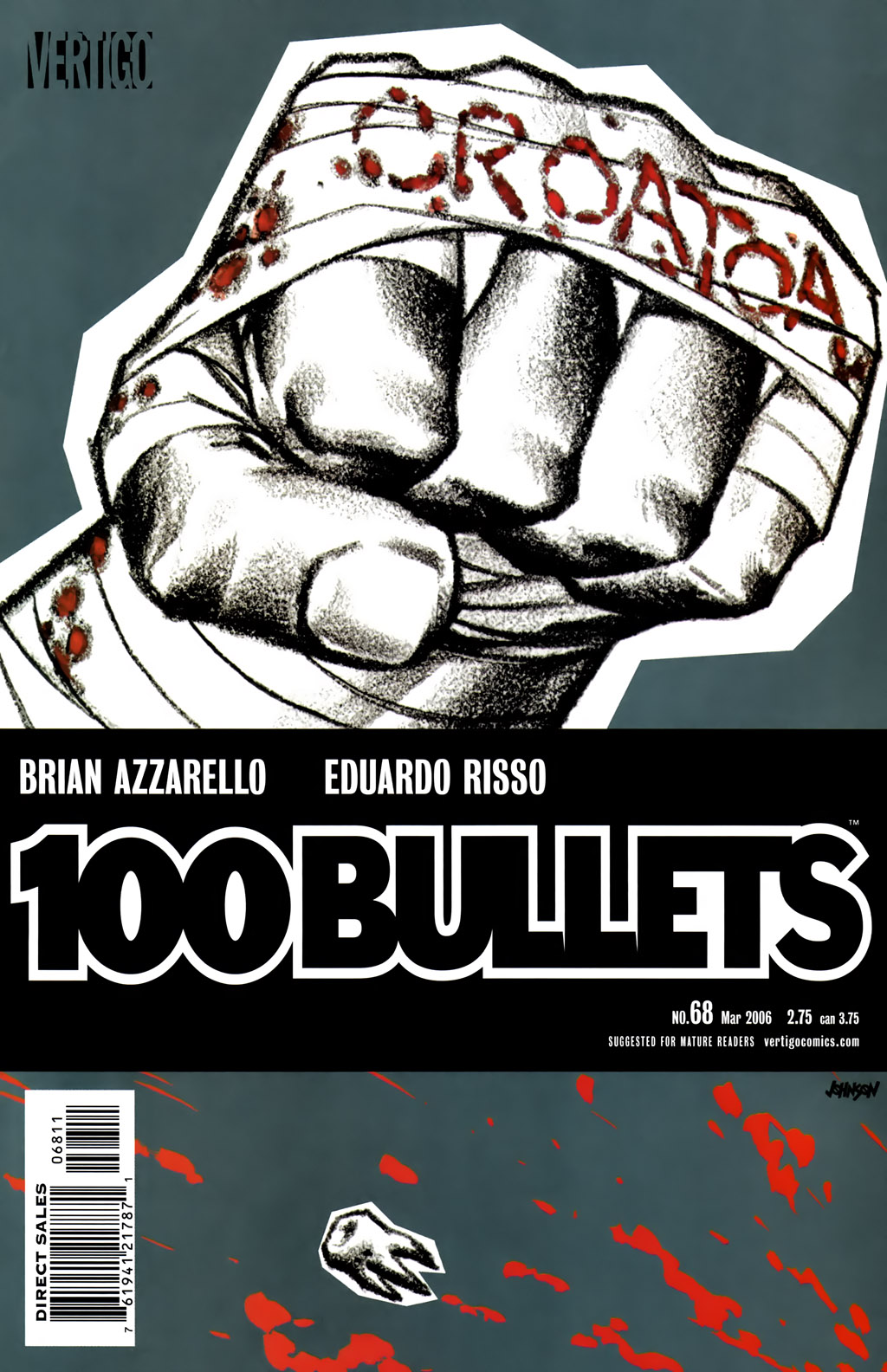 100 Bullets 68 Page 1