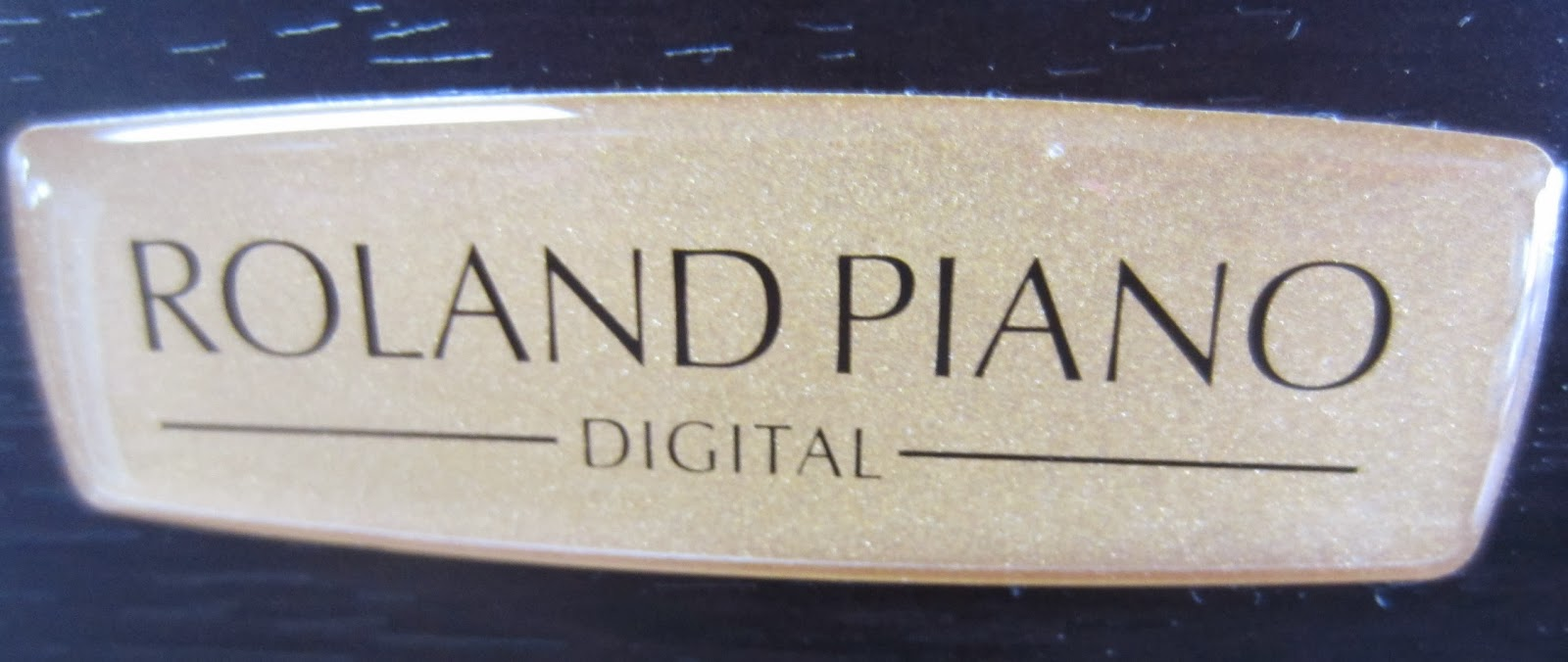 Roland HP508 digital piano logo