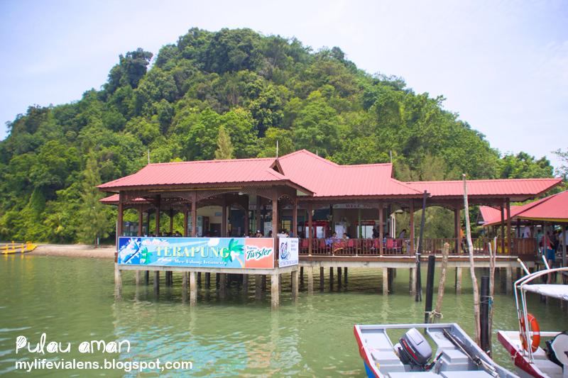 安曼岛吃海鲜 Seafood at Pulau Aman