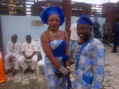 ibadan wedding oga bello son