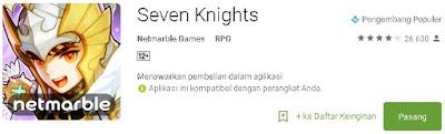 Seven Knights - Pasang
