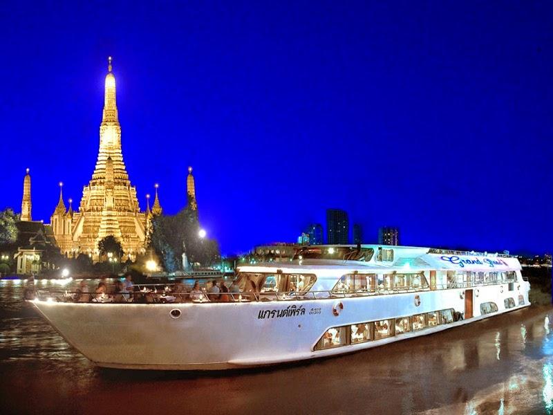 kapal grand pearl cruise di bangkok