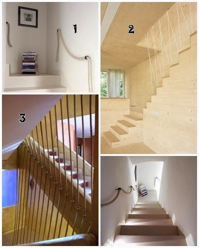 I d e a protecci n para escaleras - Escaleras de cuerda ...