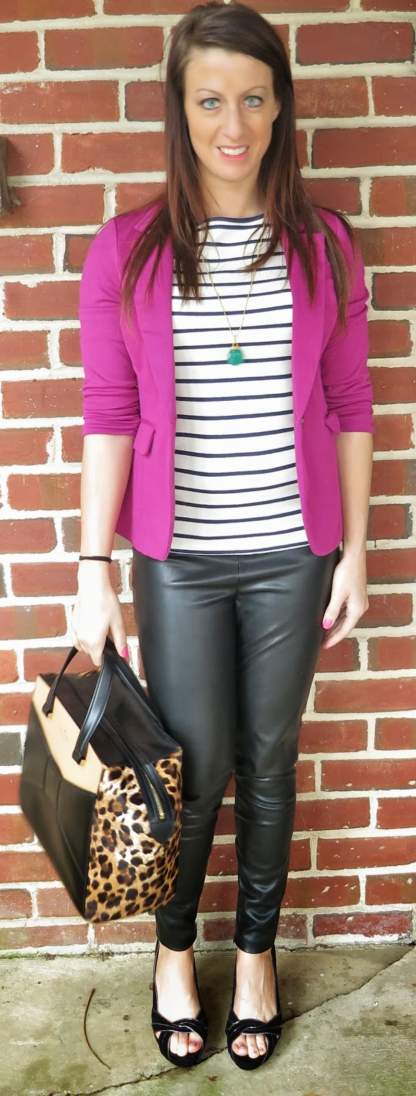 b20ed97dff39f Fashion, kate spade, leather leggings, leopard, ootd, Outfit Ideas, outfit