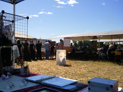 BBQ Lineup at Lanark County Plowing Match